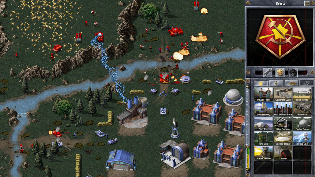 Command and Conquer remastered gameplay