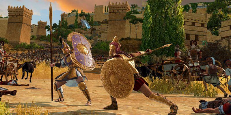 Total War Saga Troy gameplay