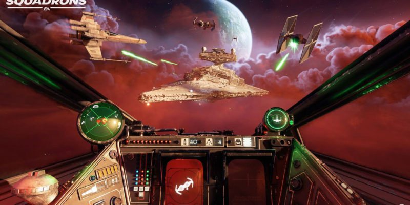 Star Wars Squadrons X-Wing