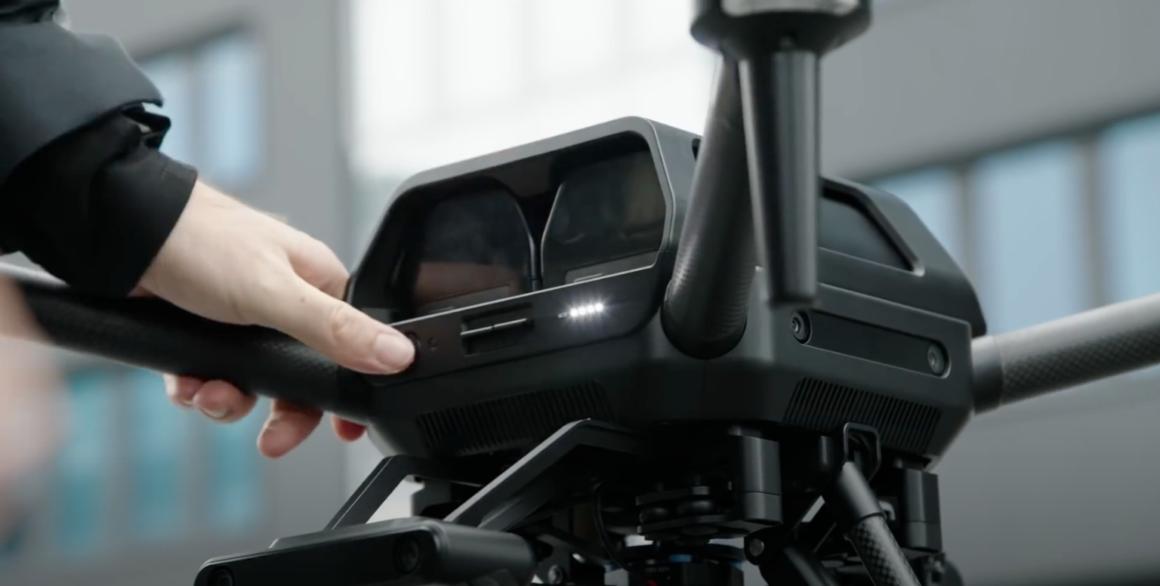sony airpeak battery teaser