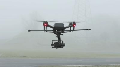 sony airpeak drone teaser