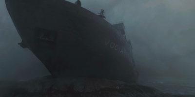Warzone Verdansk ship runs aground