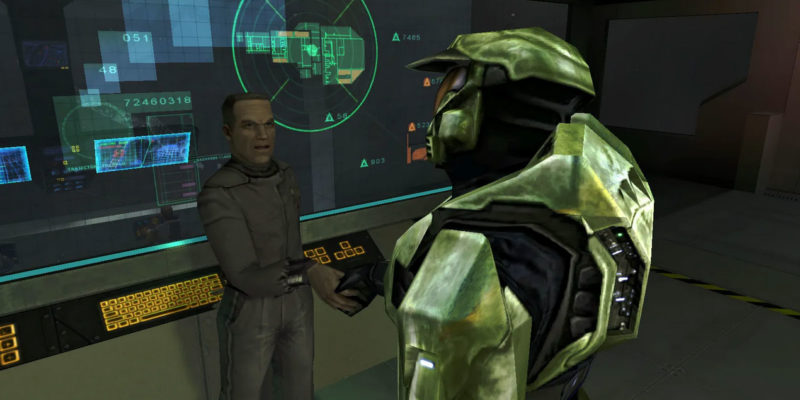 Master Chief and Captain Keyes