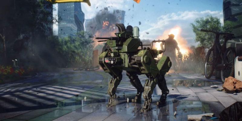 Battlefield 2042 robot dog