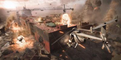 Battlefield 2042 helicopter