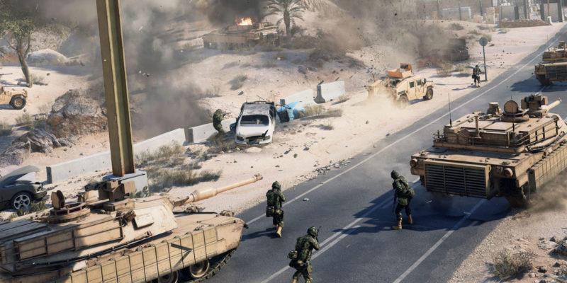 Battlefield 2042 tanks