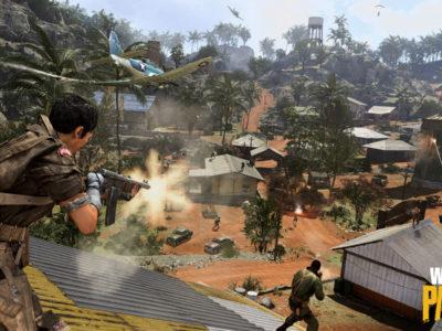 Warzone Caldera map